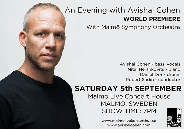 AN EVENING WITH AVISHAI COHEN